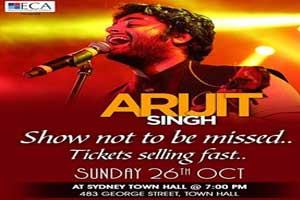 Arijit Singh Concert in Sydney